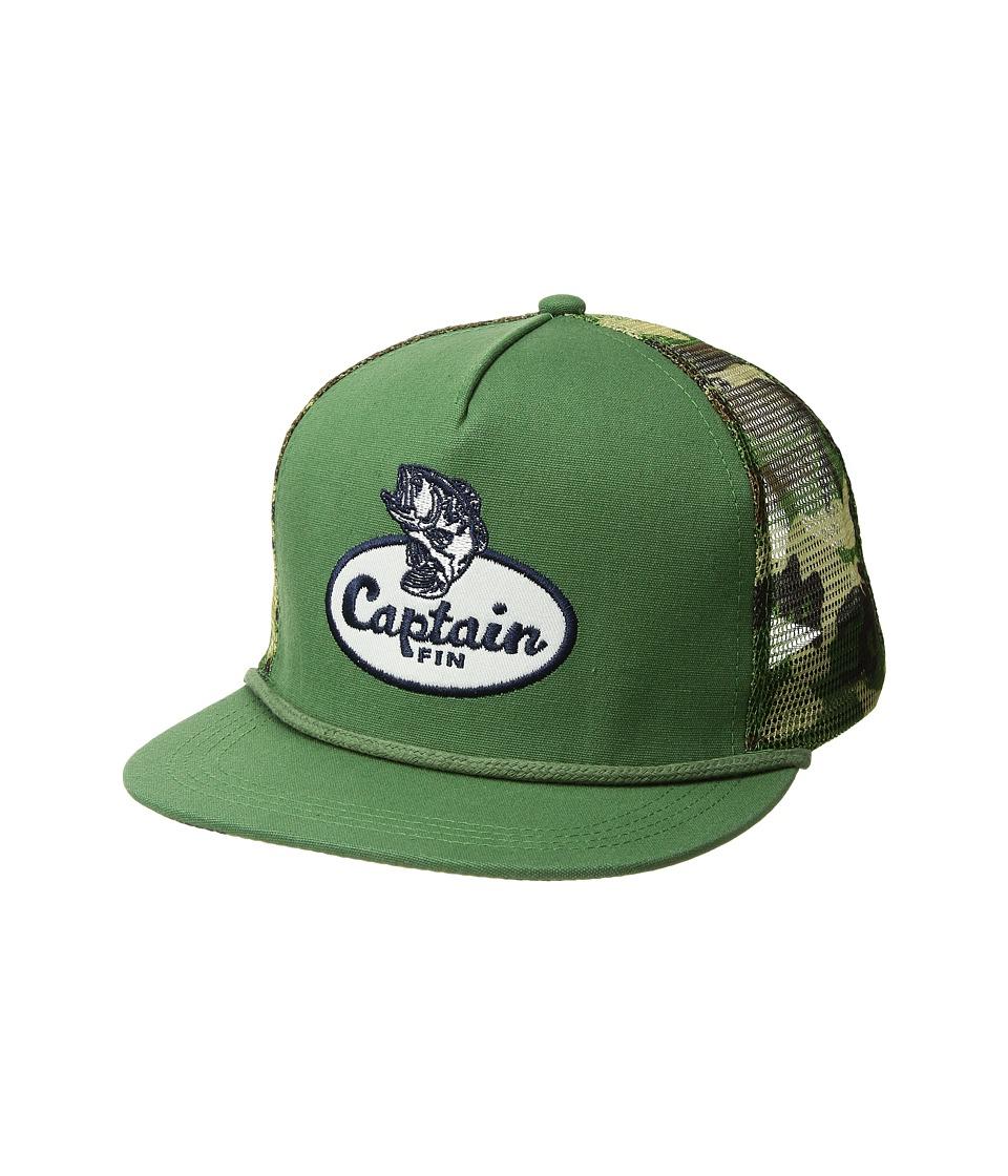 Captain Fin - Freshwater Hat (Camo) Caps