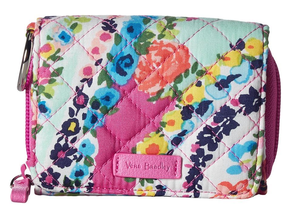 Vera Bradley Iconic RFID Card Case (Wildflower Paisley) W...