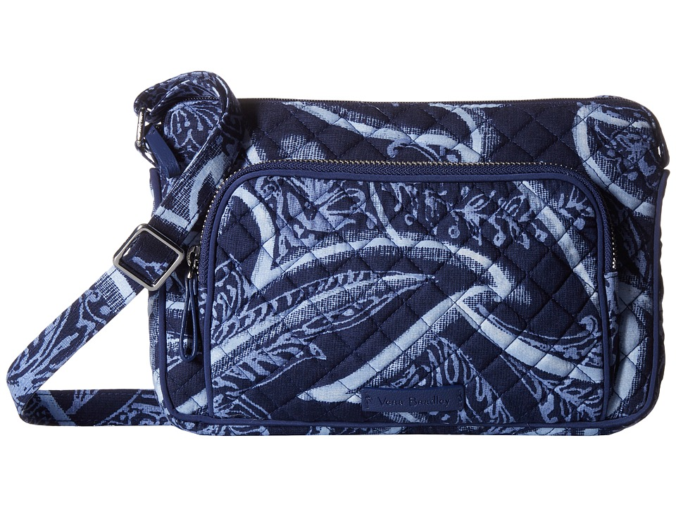 Vera Bradley Iconic RFID Little Hipster (Indio) Handbags