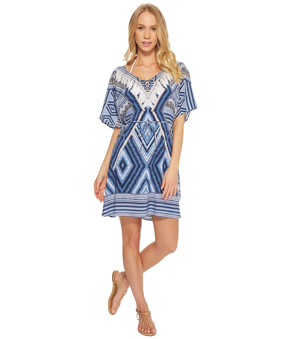 Seafolly Desert Tribe Kaftan Cover-Up 53274-KA-400