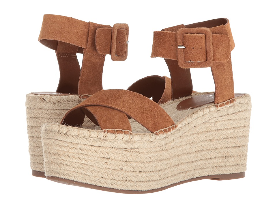 Marc Fisher LTD Randall Espadrille Platform (Cognac/Sport Tamarin) Sandals