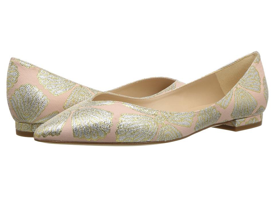 L.K. Bennett Luisa (Ballerina Metallic Jacquard Fabric) Women's Shoes