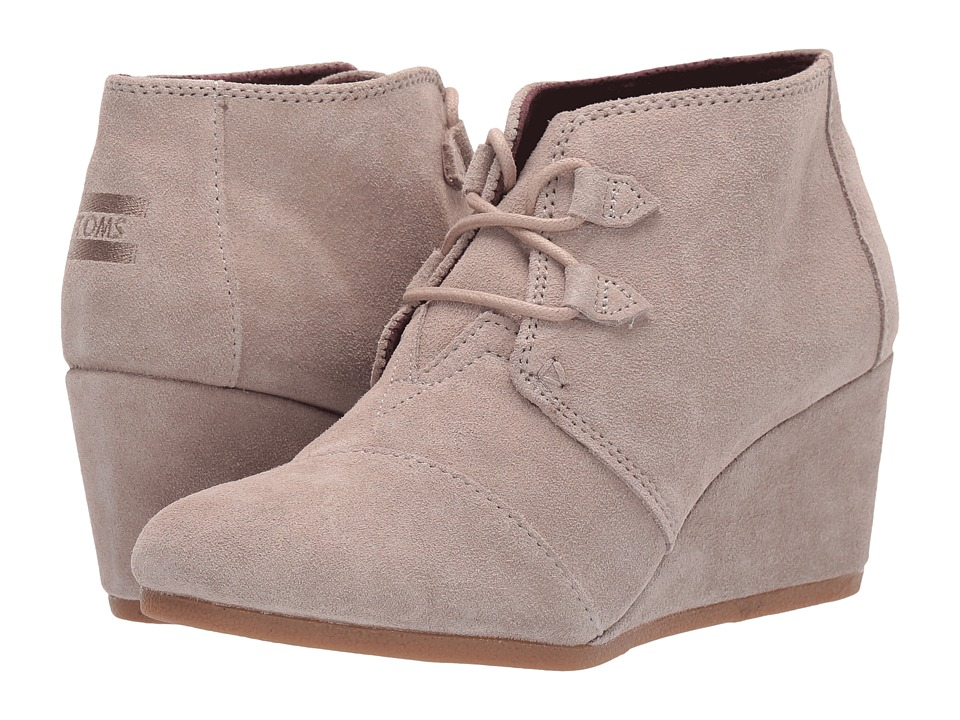 TOMS Kala (Desert Taupe Suede) Women's Lace-up Boots