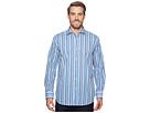 BUGATCHI Shaped Fit Striped Woven Shirt