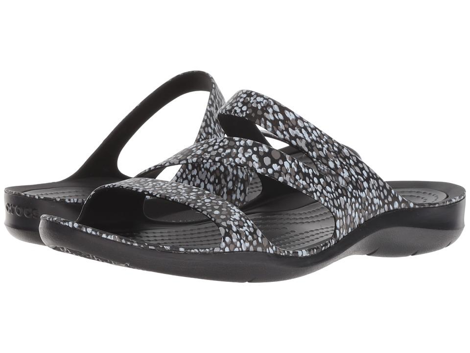 Crocs Swiftwater Graphic Sandal (Dots) Sandals
