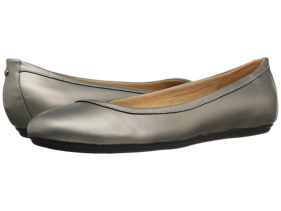 Naturalizer Brittany (Zinc Pewter Leather) Flats