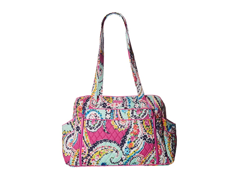 Vera Bradley Stroll Around Baby Bag Wildflower Paisley Diaper Bags