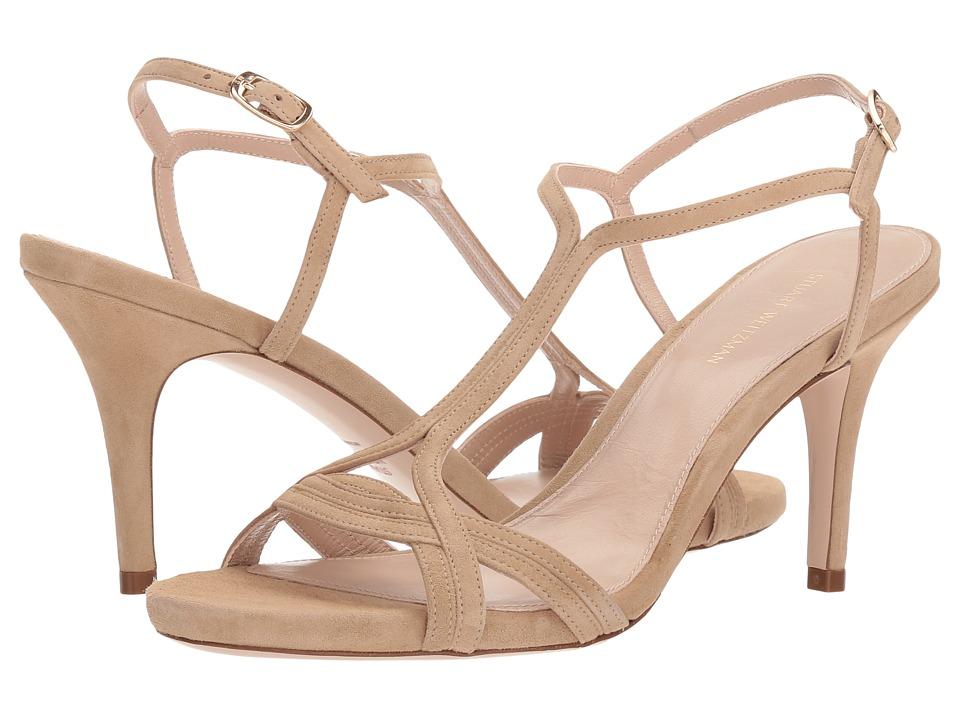 Stuart Weitzman Sunny (Mojave Suede) Women's Shoes