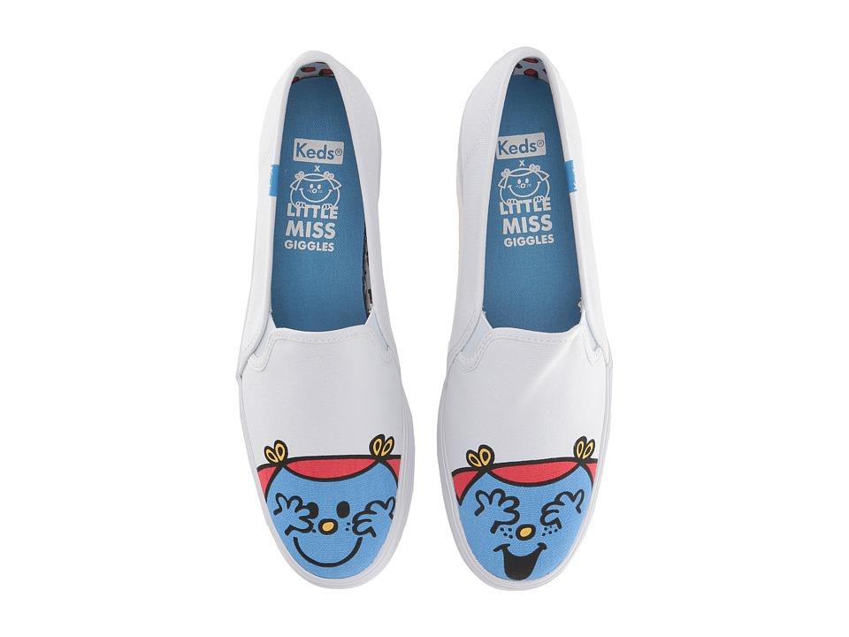 Keds Triple Decker Little Miss Giggles (Blue) Slip-On Shoes
