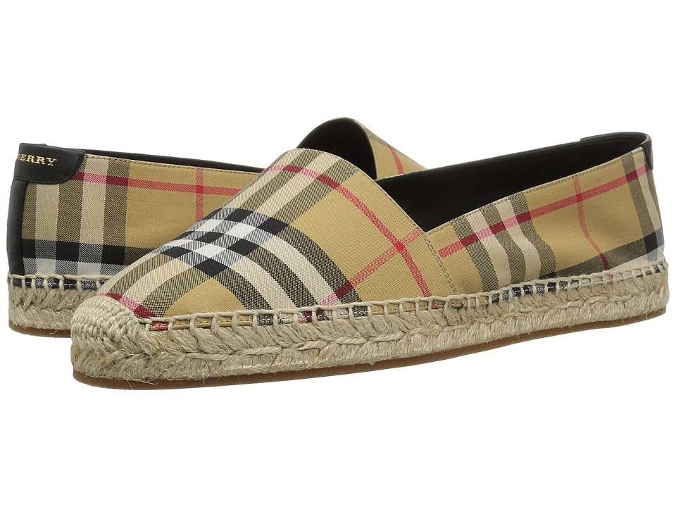 Burberry Hodgeson (Antique Yellow) Slip-On Shoes