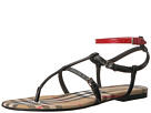 Burberry Burberry Vintage Check and Leather Sandals