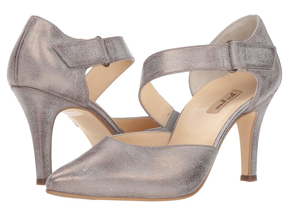 Paul Green Desire (Brushed Metallic Suede) Women's Shoes