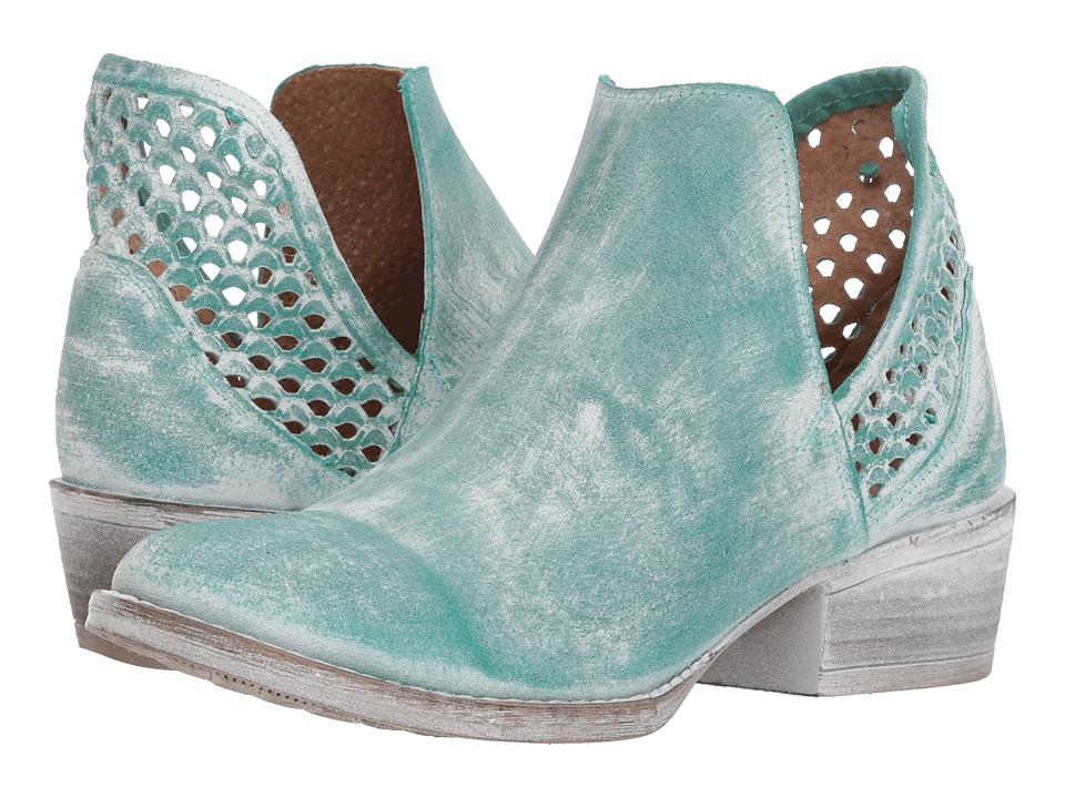 Corral Boots - Q5026 (Turquoise) Cowboy Boots