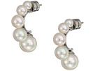 Majorica 5,8 and 10mm Graduating Pearls Earrings
