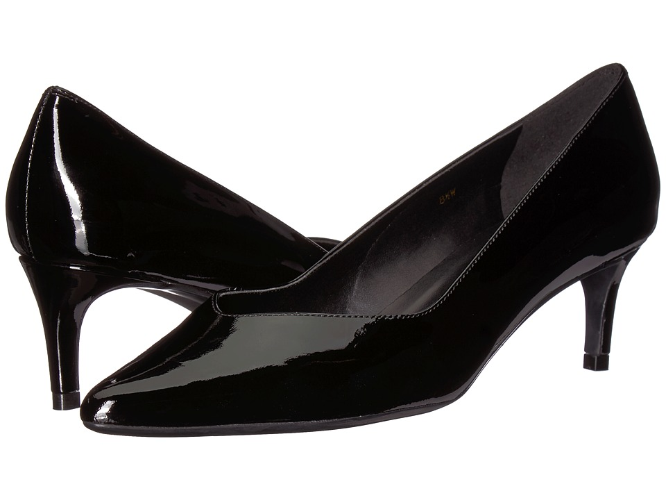 Vaneli Tacie (Black Patent) 1-2 inch heel Shoes