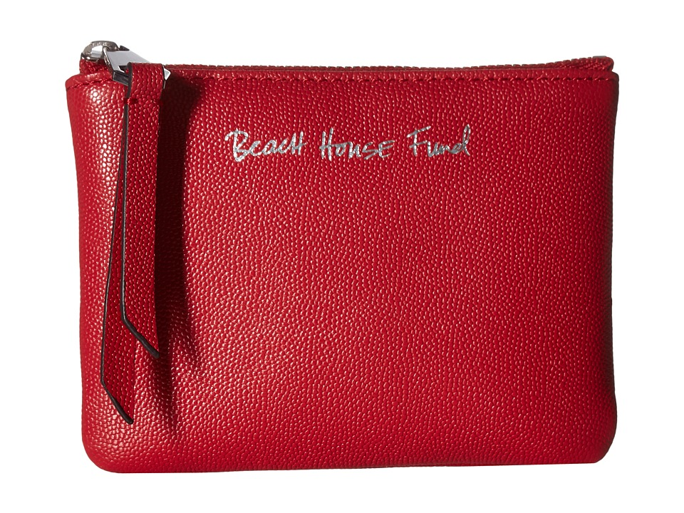 Rebecca Minkoff - Betty Pouch - Beach House Fund (Scarlet) Travel Pouch