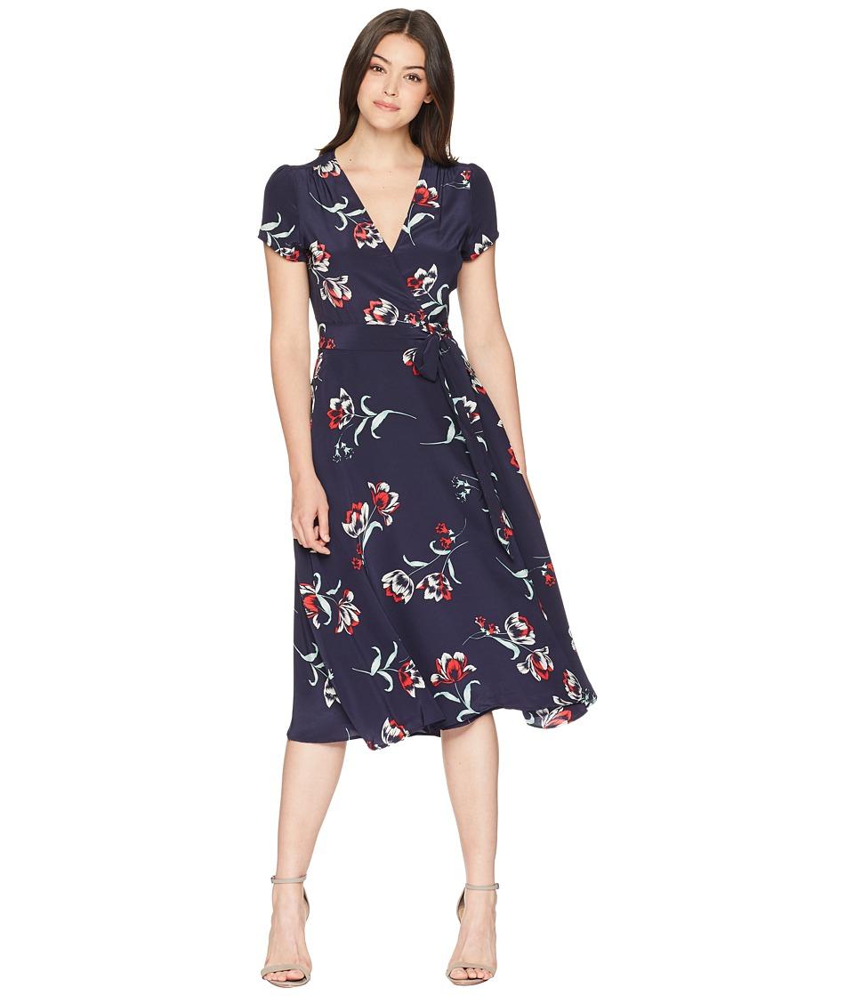 Yumi Kim - Spin Me Around Dress (Tulip Crush/Navy) Womens Dress