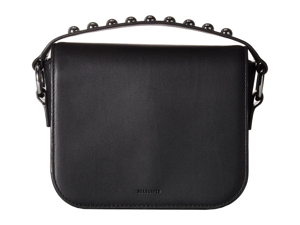 AllSaints - Suzi Clutch (Black) Clutch Handbags
