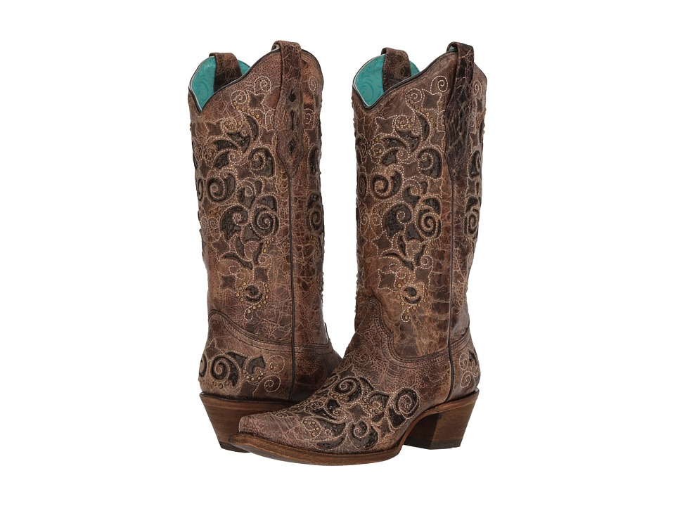 Corral Boots - A3228 (Brown) Cowboy Boots