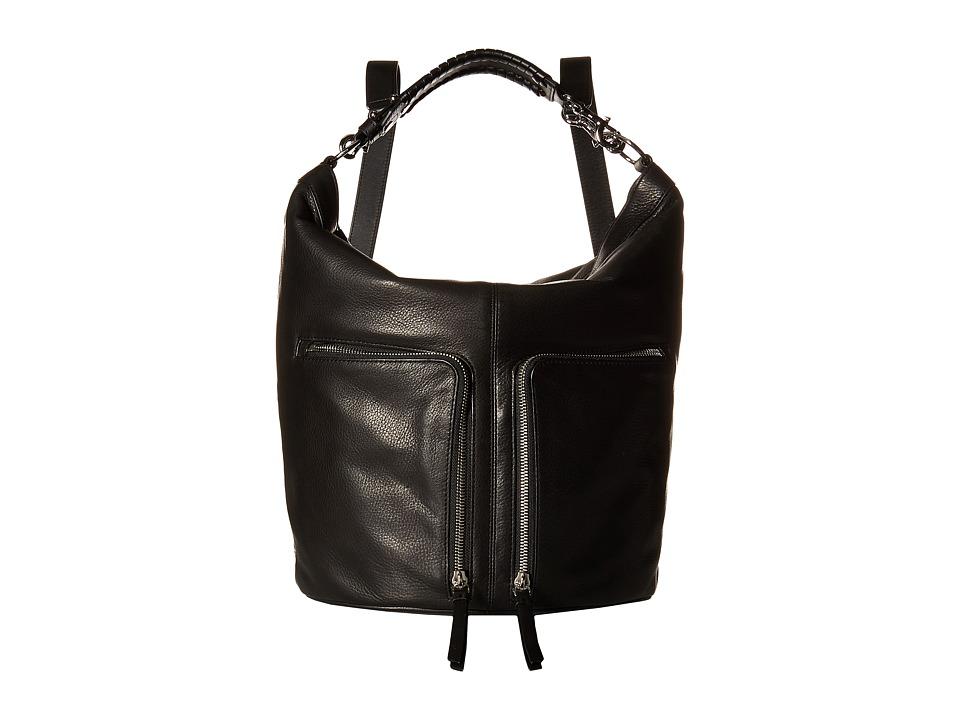 AllSaints - Fetch Backpack (Black) Backpack Bags