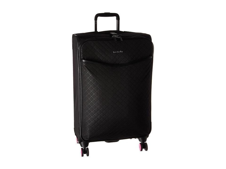 Vera Bradley Iconic Large Spinner (Classic Black) Luggage