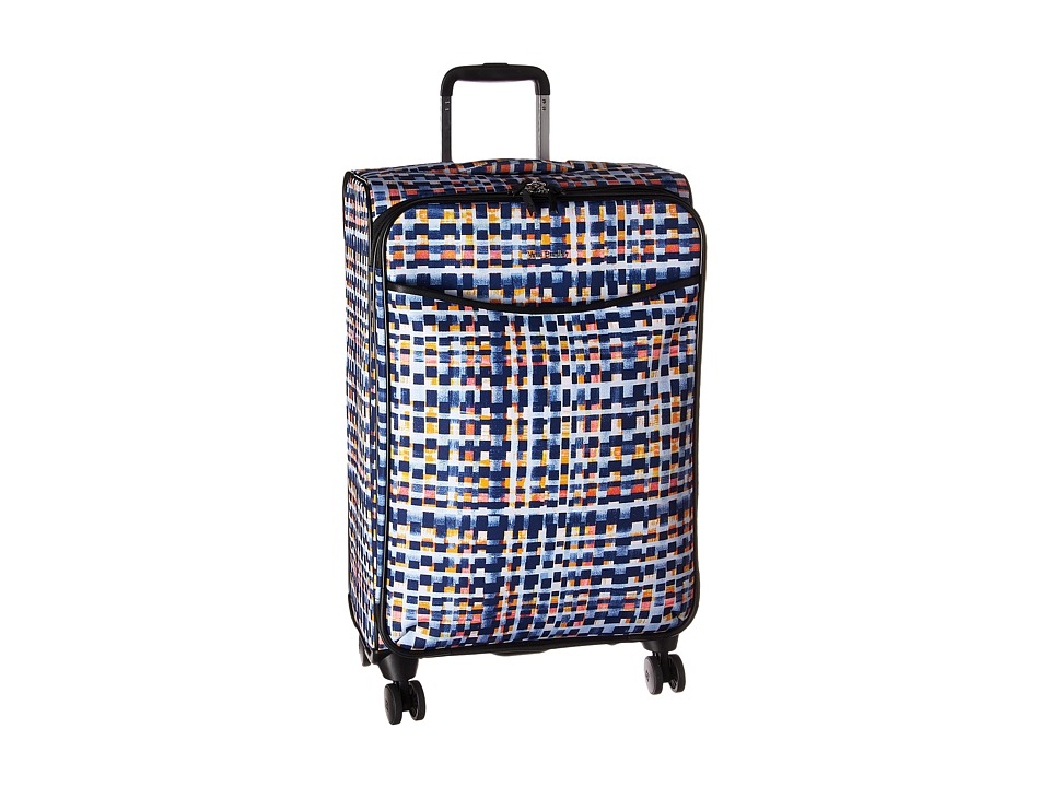 Vera Bradley Iconic Large Spinner (Abstract Blocks) Luggage