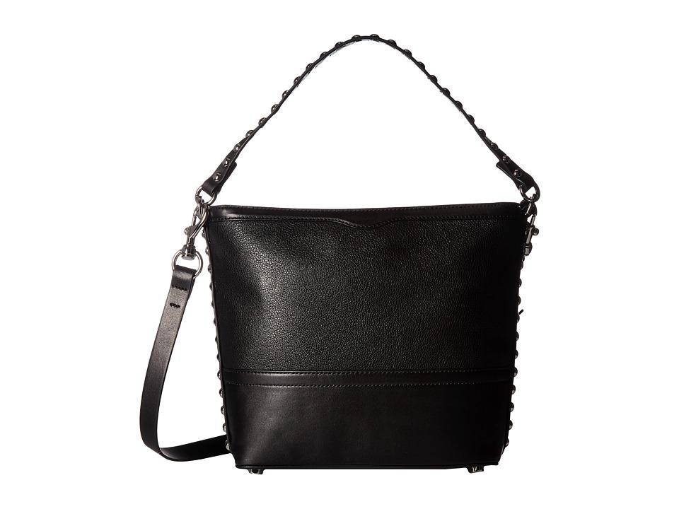Rebecca Minkoff - Blythe Small Convertible Hobo (Black) Hobo Handbags