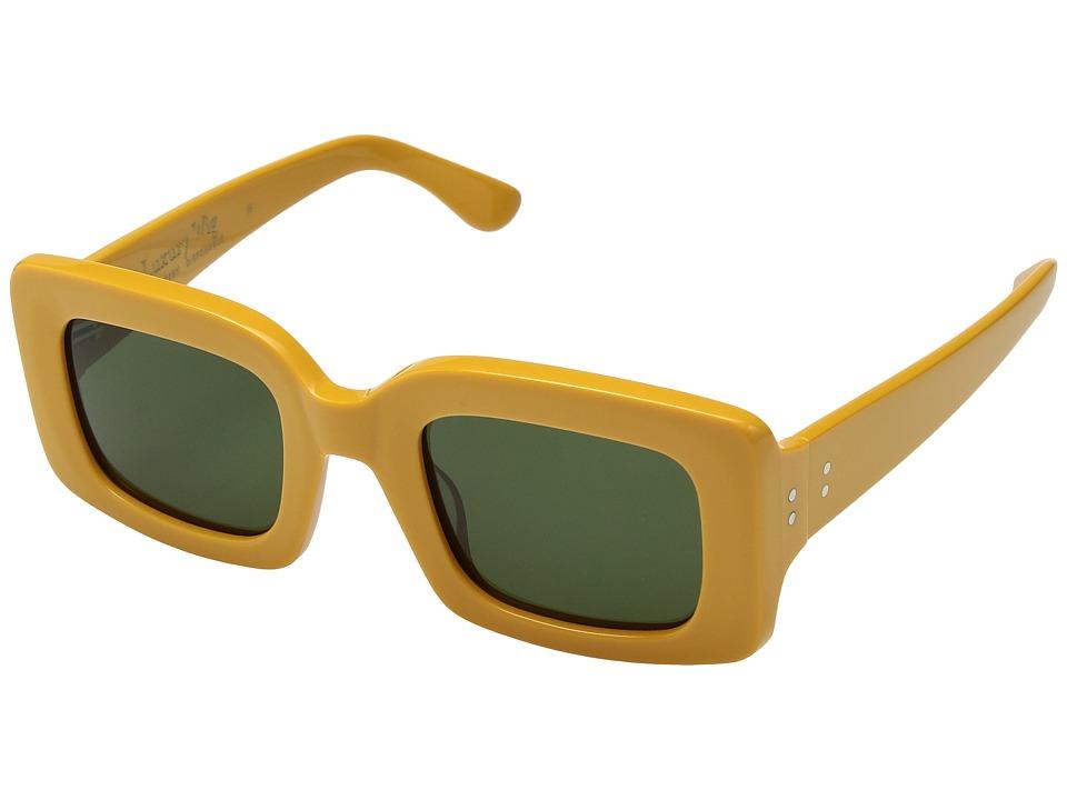 RAEN Optics - Flatscreen 49 (Disposable/Bottle Green) Athletic Performance Sport Sunglasses