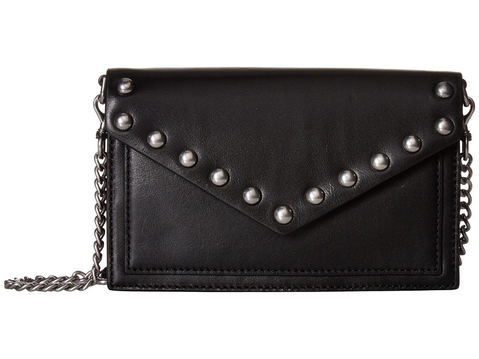 Rebecca Minkoff - Blythe Wallet Crossbody (Black) Cross Body Handbags