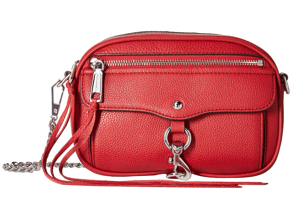 Rebecca Minkoff - Blythe Crossbody (Scarlet) Cross Body Handbags