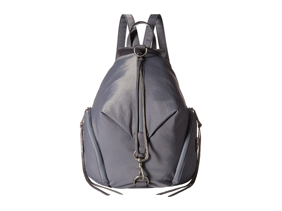 Rebecca Minkoff - Julian Nylon Backpack (Grey) Backpack Bags
