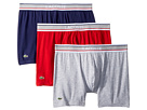 Lacoste Colours 3-Pack Grey Waistband Boxer Brief