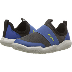 a7c614b34245 Crocs Kids Swiftwater Easy-On Heather Shoe (Toddler Little Kid) at  Zappos.com