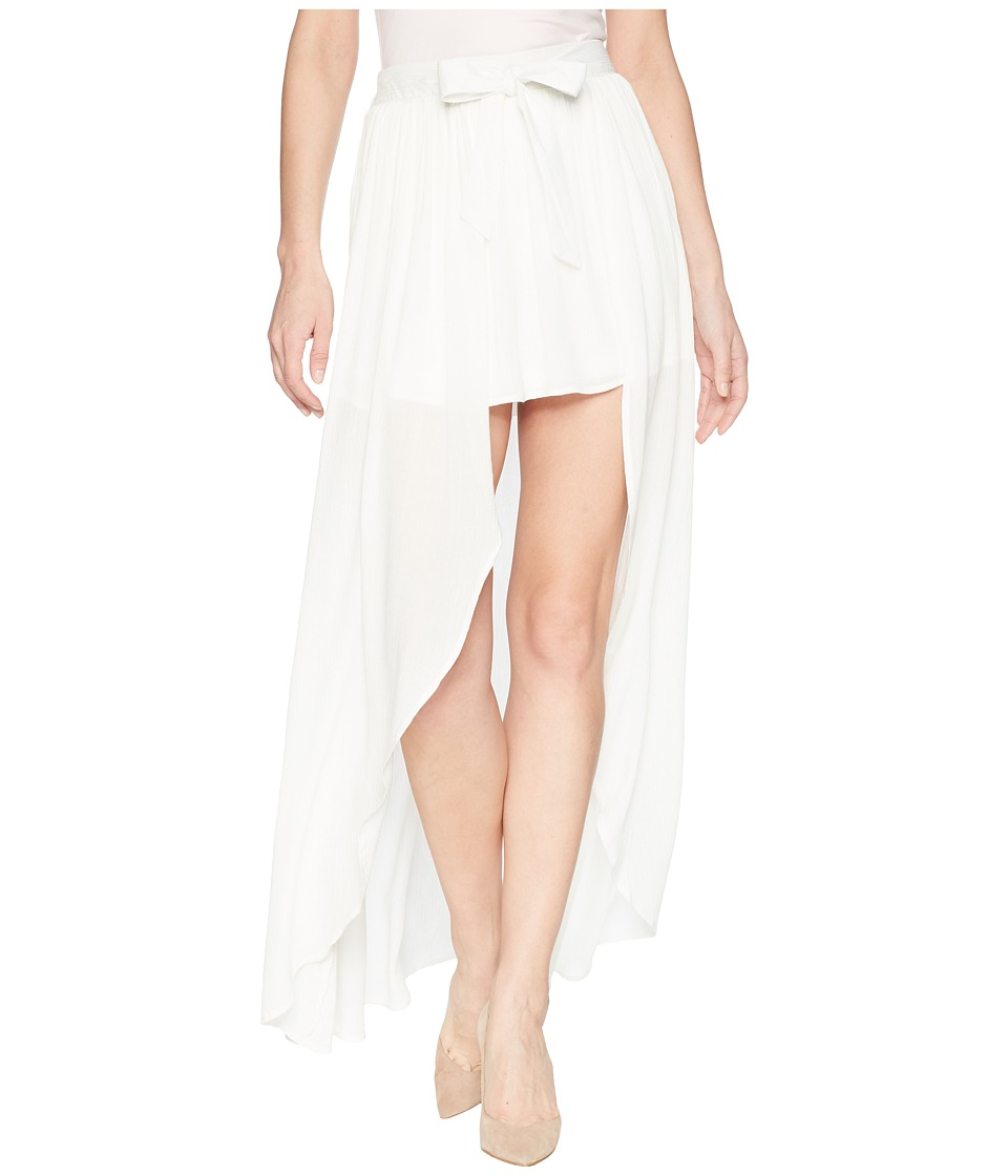Jack by BB Dakota - Beatrice Wrap Skirt (Bright White) Womens Skirt
