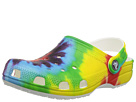 Crocs Kids Classic Tie-Dye Graphic Clog (Toddler/Little Kid)