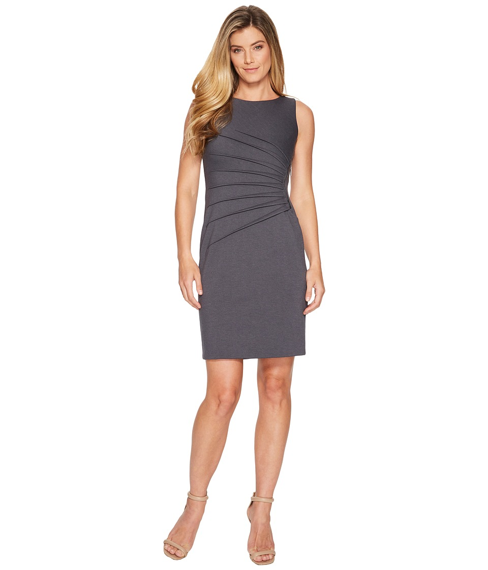 Ivanka Trump - Starburst Dress (Charcoal) Womens Dress