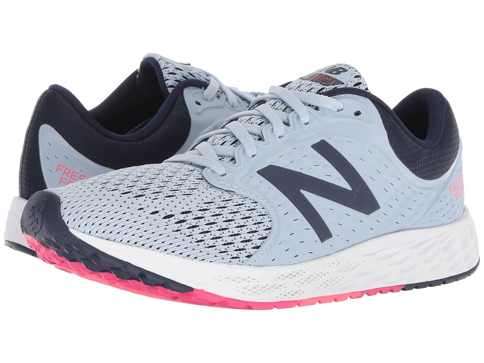 New Balance Fresh Foam Zante v4 (Ice Blue/Pigment) Women's Running Shoes