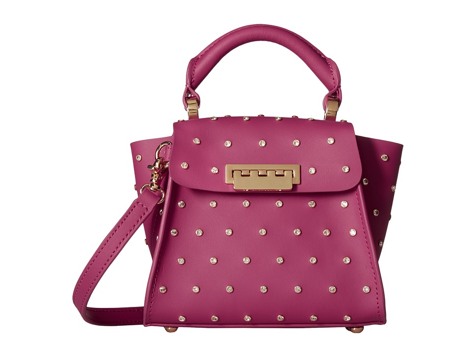ZAC Zac Posen - Eartha Top Handle Mini (Fuchsia) Top-handle Handbags