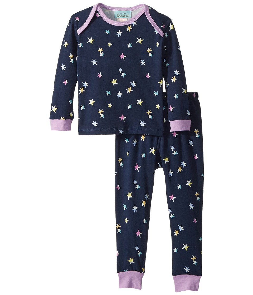 Image of BedHead Kids - Long Sleeve Baby Two-Piece Set (Infant) (Twinkle) Girl's Active Sets