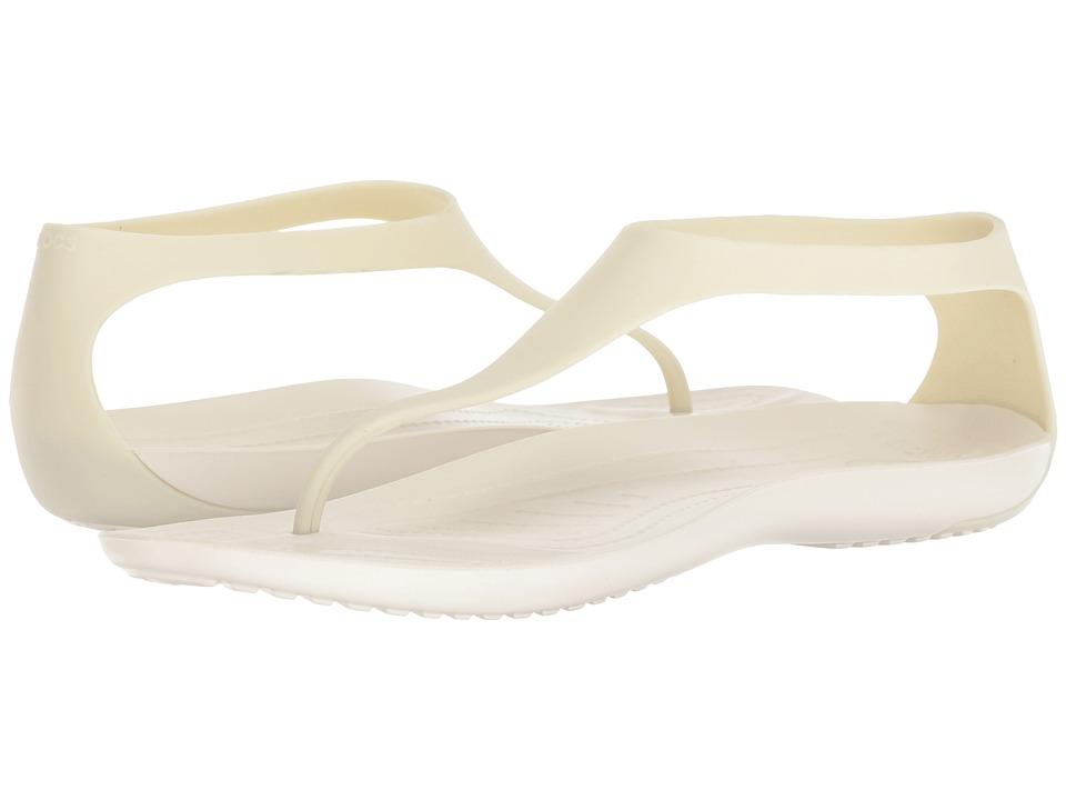 Crocs Sexi Flip (Oyster) Sandals