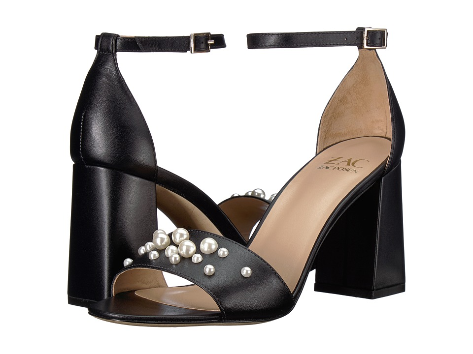 ZAC Zac Posen Eve Pearls (Black) Women's Shoes