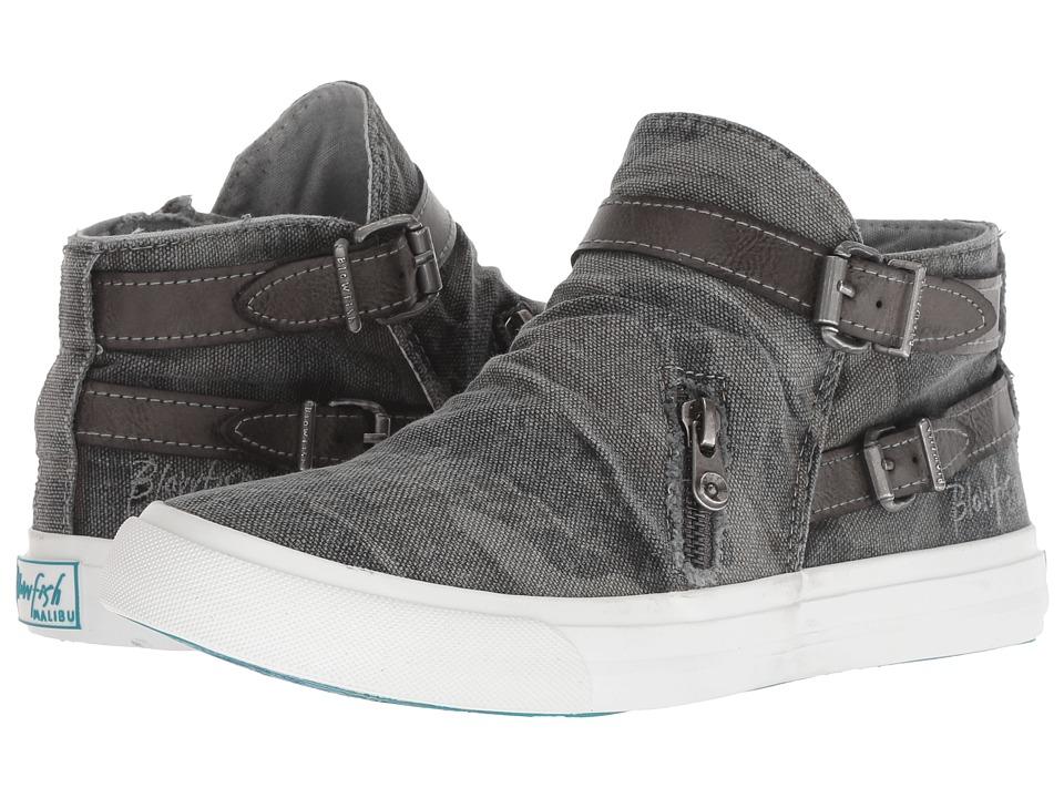 Blowfish Mondo (Grey Camo Canvas) Women's Pull-on Boots