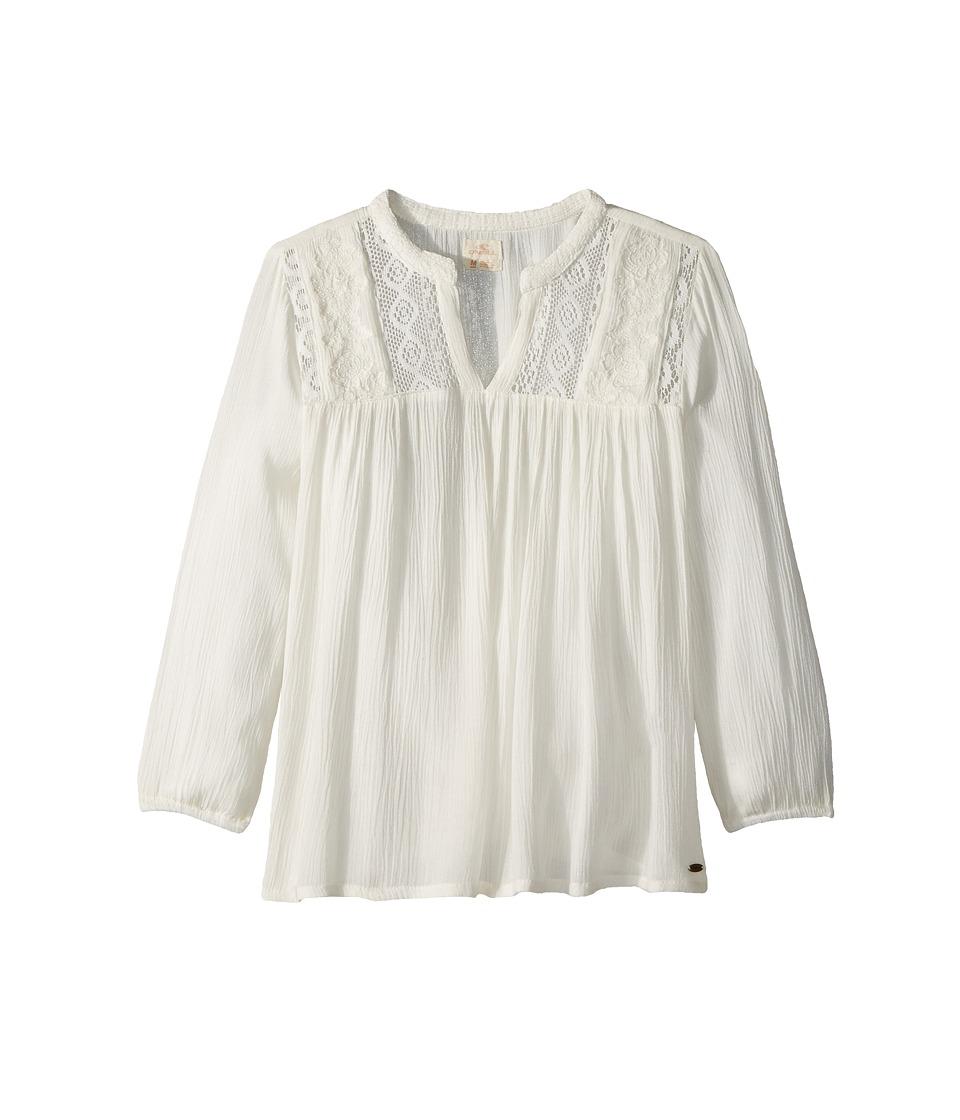 ONeill Kids - Marion Shirt (Big Kids) (Naked) Girls Short Sleeve Button Up