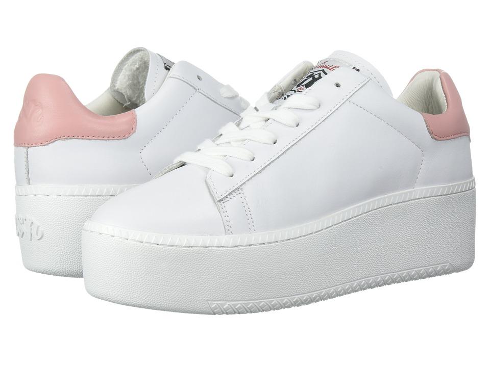 ASH - Cult (White/Blush Nappa Calf/Nappa) Womens Lace up casual Shoes