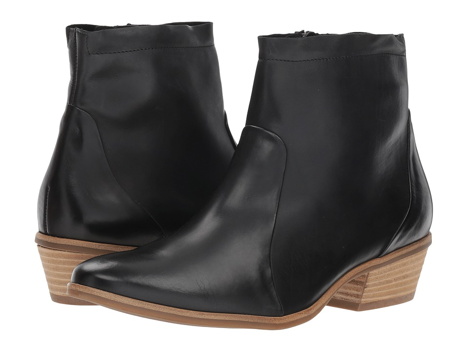 Paul Green Shaw Boot (Black Leather)