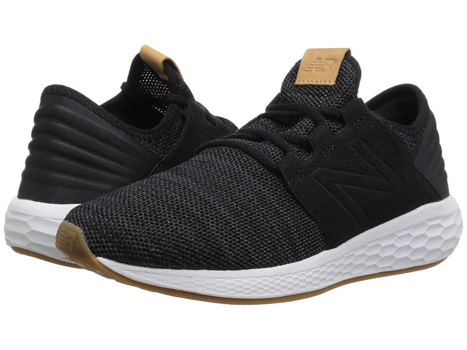 New Balance Fresh Foam Cruz v2 Knit (Black/Magnet) Women's Running Shoes