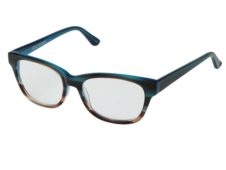 Corinne McCormack - Hillary (Turquoise) Reading Glasses Sunglasses