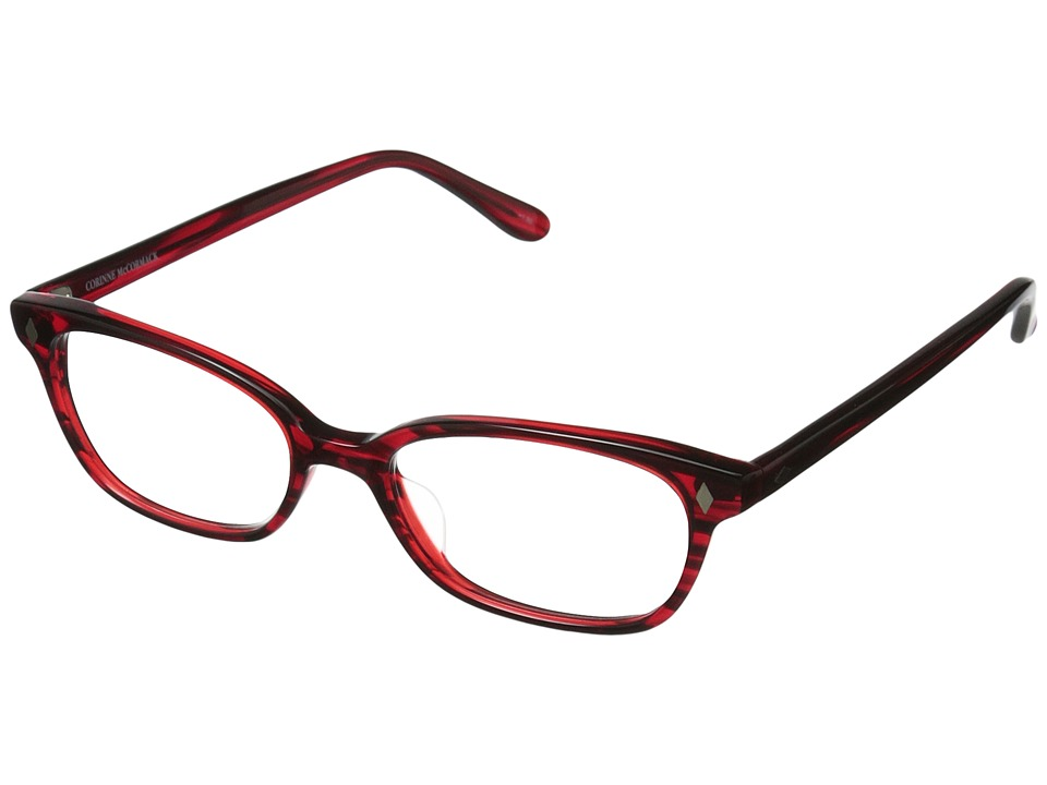 Corinne McCormack - Cyd Reading Glasses (Red) Reading Glasses Sunglasses