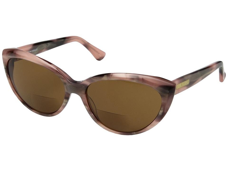 Corinne McCormack - Anita Sun Readers (Pink) Reading Glasses Sunglasses