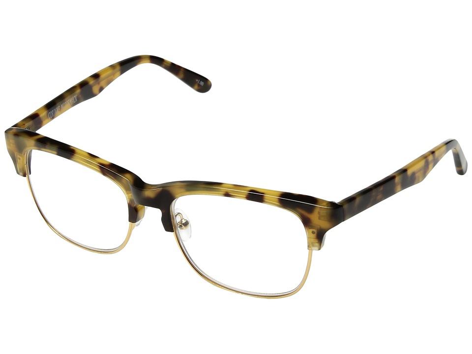 Corinne McCormack - Fanni Reading Glasses (Tortoise) Reading Glasses Sunglasses